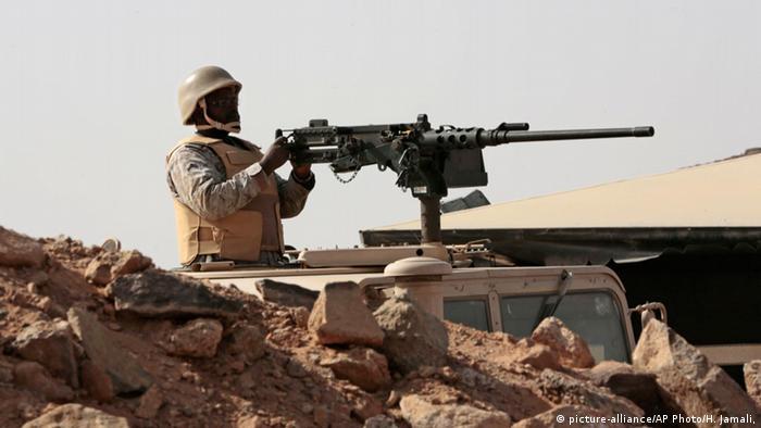 Солдат армії Саудівської Аравії