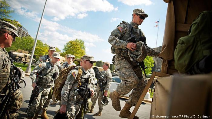 американские гвардейцы