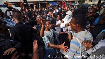 Israel Tel Aviv Protestaktion äthiopische Juden