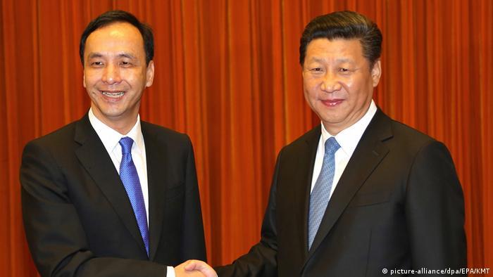 作为时任国民党党主席,朱立伦曾在2015年5月率团访问大陆,与习近平举行了历史性会晤