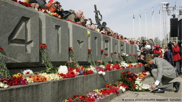 Памятник освободителям в столице Латвии