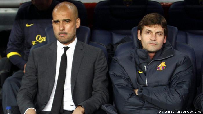 Bildergalerie Pep Guardiola und der FC Barcelona Tito Vilanova