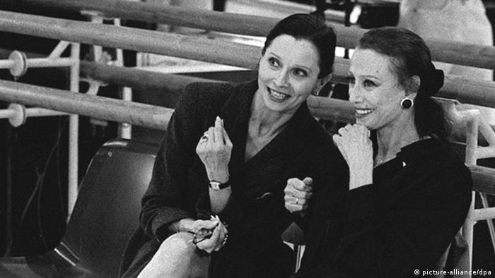 Прима-балерины между собой: Майя Плисецкая и звезда штутгартского балета Биргит Кайль, 2003 год