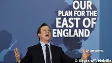 Großbritannien David Cameron Wahlkampf 2015