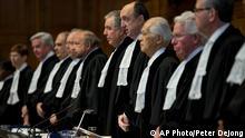 Symbolbild - Internationaler Gerichtshof Den Haag
