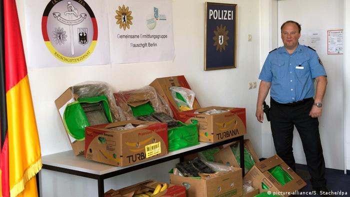 Berlin - Polizei meldet Drogenfund in der Hauptstadt