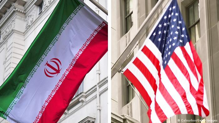 Combobild Flaggen USA und Iran (Colourbox/Getty Images)