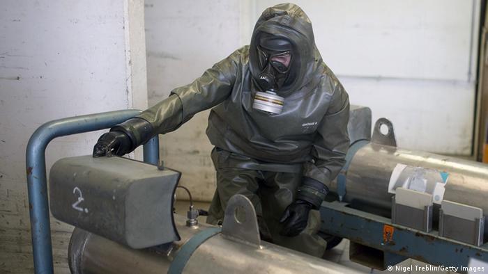 Munster - Vernichtung von chemischen Waffen GEKA (Nigel Treblin/Getty Images)
