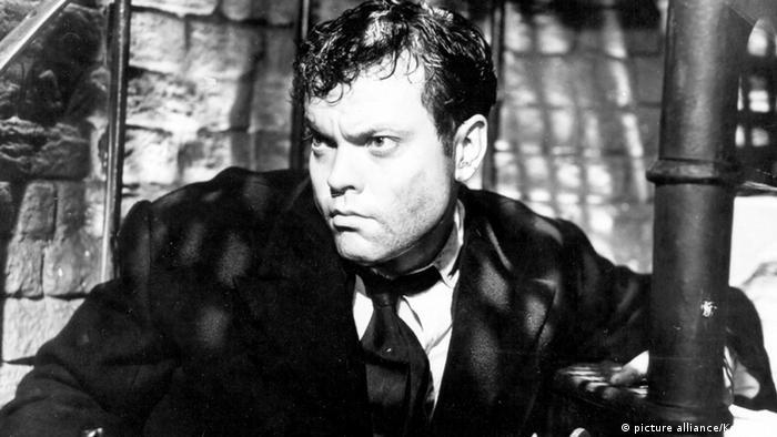 Filmstill der dritte Mann Orson Welles