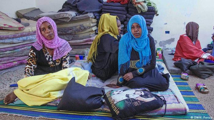 Migranten in Libyen