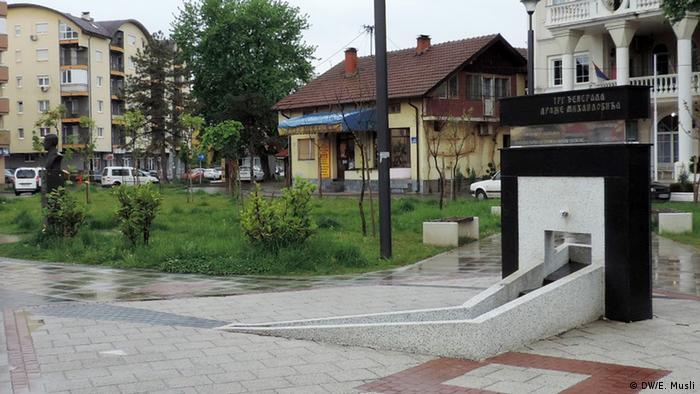 Spomenik Draži Mihailoviću u Bijeljini:
