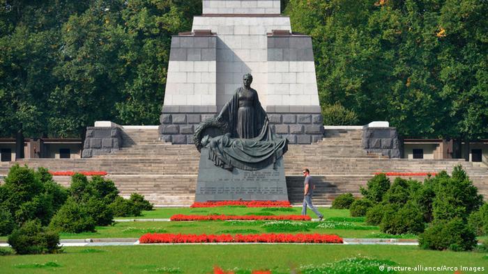 Majka domovina - Šenholcer Hajde, Pankov, Berlin