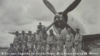 Pilotos del Escuadrón 201.