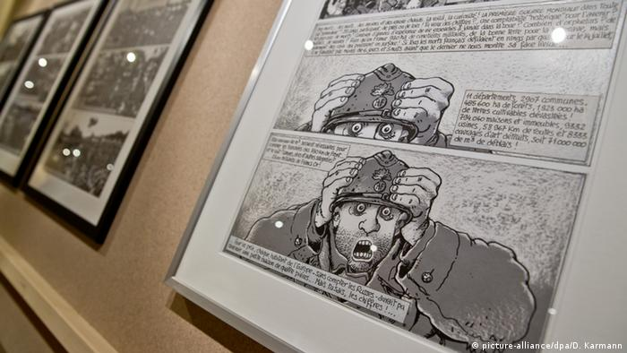 Comics by Jacques Tardi, Copyright: picture-alliance/dpa/D. Karmann
