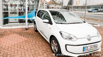 Электромобиль Volkswagen e-up!