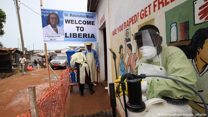 Liberia Monrovia Ebola