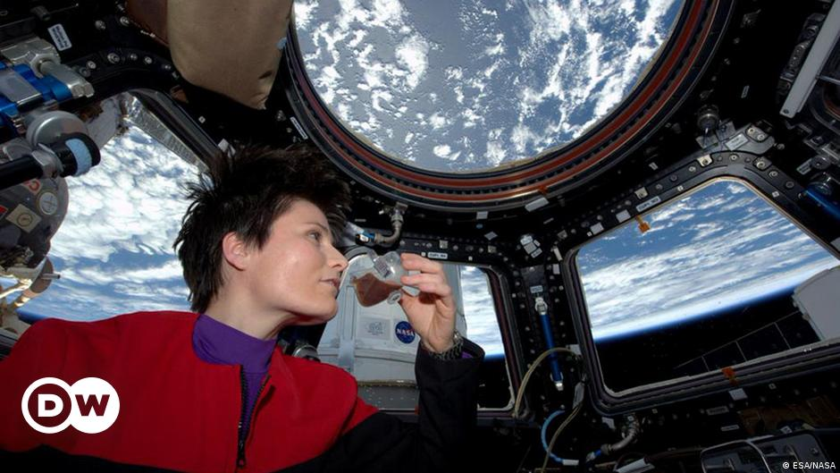 ISS: Astronaut Cristoforetti reads for return ′ home ′ |  Science  Detailed statement on science and technology  DW