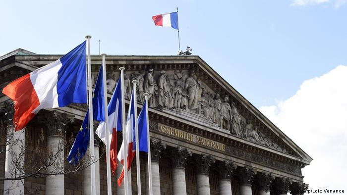 Eingangsportal der Nationalversammlung (Foto: Getty)