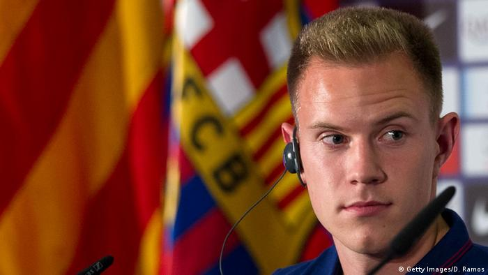 FC Barcelona Marc-Andre Ter Stegen (Getty Images/D. Ramos)