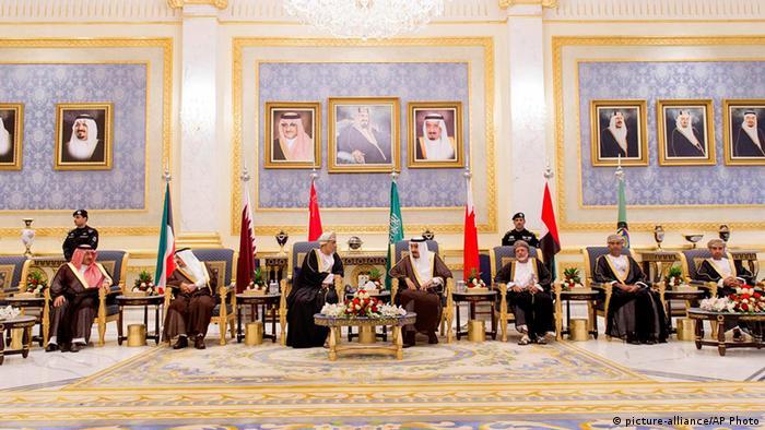 Saudi Arabien Riad GCC Gipfel