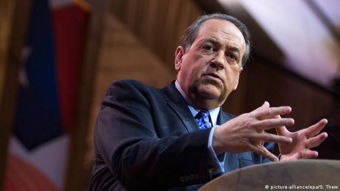 USA Republikaner Mike Huckabee Politiker