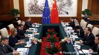 China Peking Besuch Federica Mogherini
