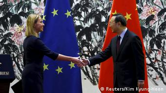 Federica Mogherini u Pekingu