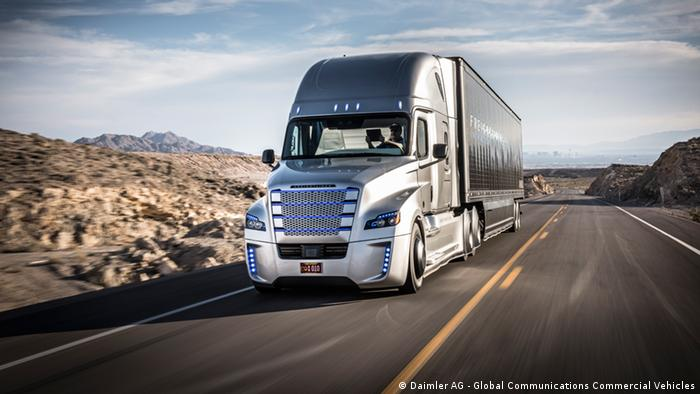 Daimler truck in US