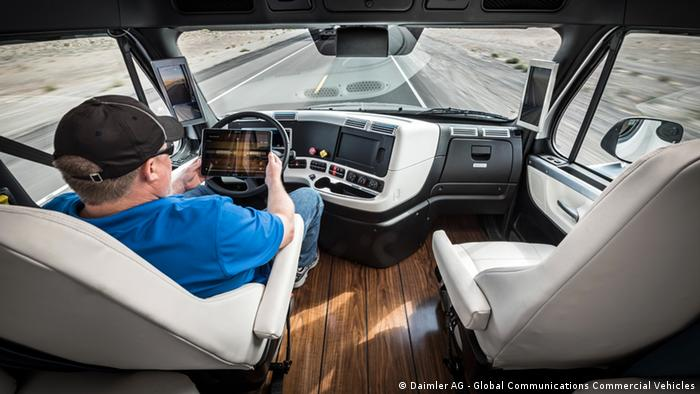 Daimler Trucks LKW autonomes Fahren (Daimler AG - Global Communications Commercial Vehicles)