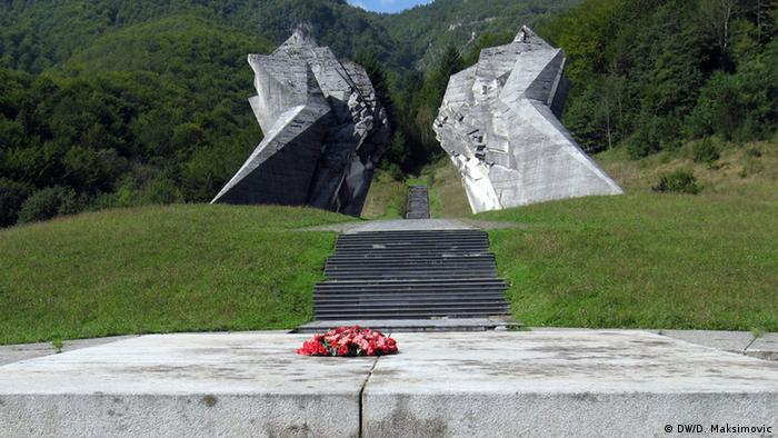 Bosnien Denkmal Zweiter Weltkrieg Sutjeska