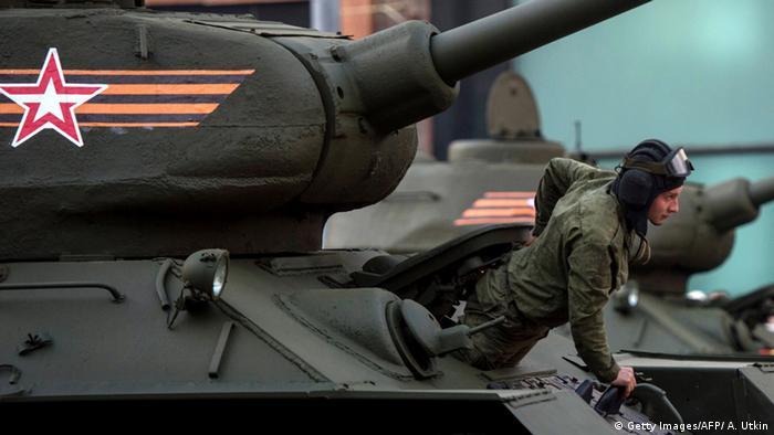 Міфологізація Великої вітчизняної: Підготовка до військового параду у Москві