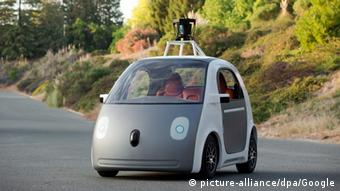 Gray self-driving car. (EPA/Google HANDOUT)