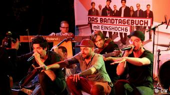 Diary of a Band on tour – concert at German(y) Day in Haifa. Photo: Friederike Rohmann/DW Akademie