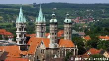 Deutschland Stadtansicht Naumburg (Saale)