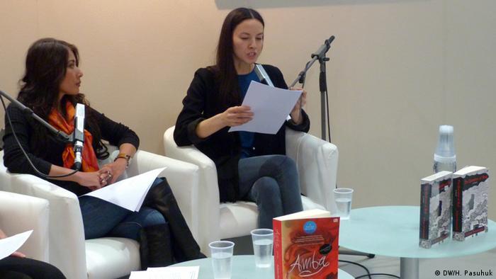 Buchlesung Leipziger Buchmesse 2015 Laksmi Pamuntjak Milena Karas