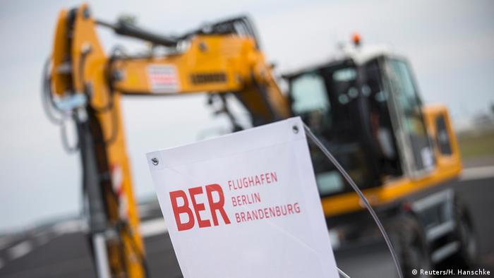 Deutschland BER Bauarbeiten