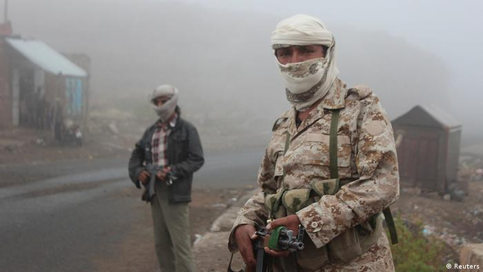 Jemen Kämpfer Symbolbild