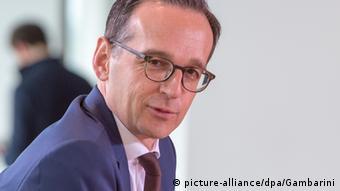 German Justice Minister Heiko Maas Poto: Maurizio Gambarini/dpa