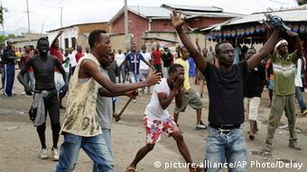 Unruhen in Burundi