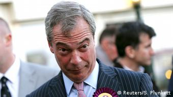 Ukip-Chef Nigel Farage am 6. Mai 2015 (Foto: Reuters)