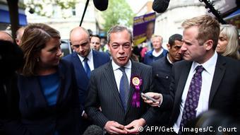 Großbritannien Wahlen 2015 UKIP Farage