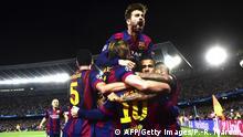 Champions League Halbfinale Barcelona gegen Bayern München