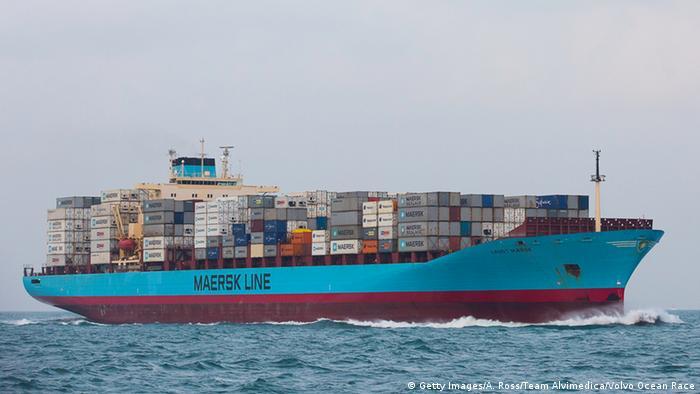 Symbolbild - Iran entlässt MAERSK Frachtschiff (Getty Images/A. Ross/Team Alvimedica/Volvo Ocean Race)
