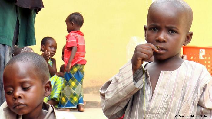 Nigeria,Yola Malkohi Flüchtlingscamp