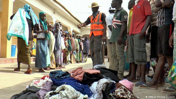 Nigeria,Yola Malkohi Flüchtlingscamp Bild 8