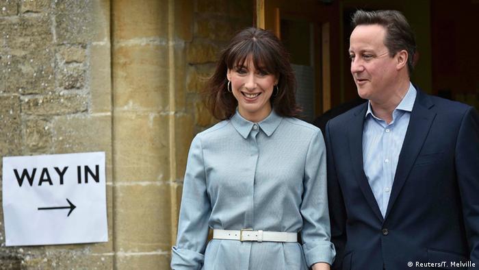Großbritannien wählt - Wahl zum Unterhaus im Vereinigten Königreich 2015