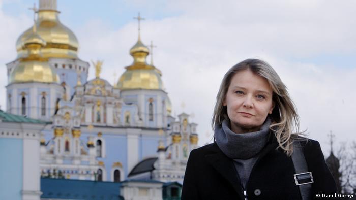 Професор Донецького національного університету Олена Стяжкіна
