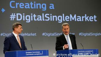 Για πολλά χρόνια ο Γκίντερ Έτινγκερ κατείχε το σημαντικό χαρτοφυλάκιο της ψηφιακής οικονομίας