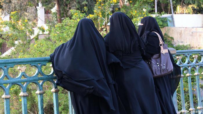 verschleierte frauen im islam