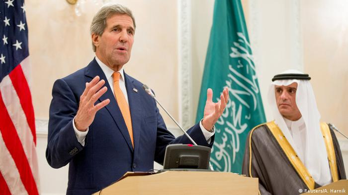 USA Saudi Arabien Kerry bei Adel al-Jubeir